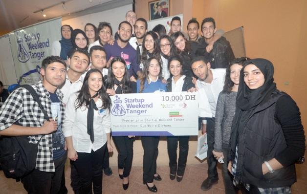 La caravane Startup Weekend Maroc décerne ses prix à Tanger