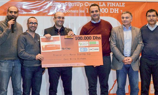 Maroc Startup Cup Safe Demat sacrée championne du Maroc