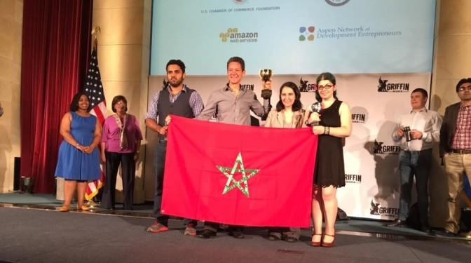 Le Maroc remporte le premier prix dans la compétition World StartUp Cup à Washington !  La startup Marocaine Go-Mobile arrache la victoire !