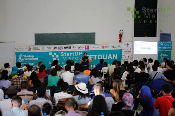 Startup Maroc RoadShow! Startup Weekend Tetouan … checked !