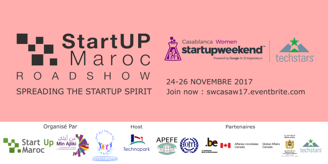 StartUp Weekend Casablanca Women 2017 – 4ème édition